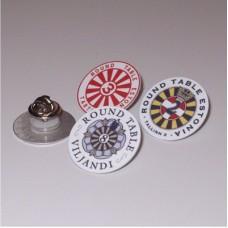 PIN-märk ümmargune